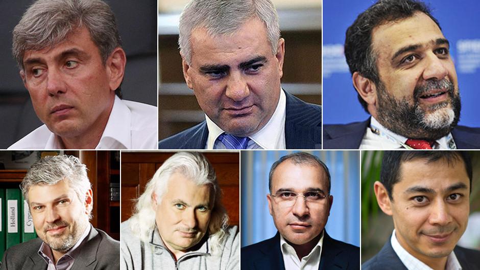 Forbes: 7 армян - в списке 200 богатейших российских бизнесменов